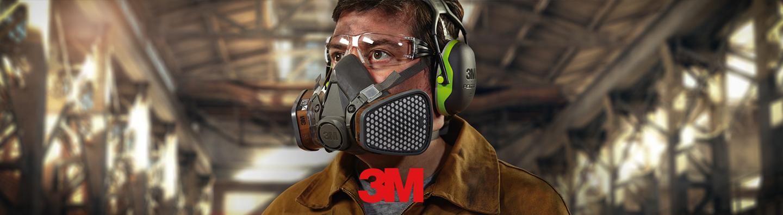 3M izdelki za zaščito dihal, oči in sluha