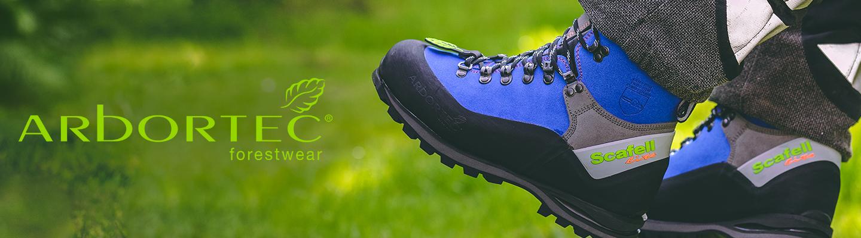 Zaščitni gozdarski čevlji ARBORTEC