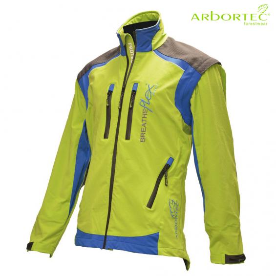 Gozdarska jakna ARBORTEC Breatheflex Pro AT4100 lime
