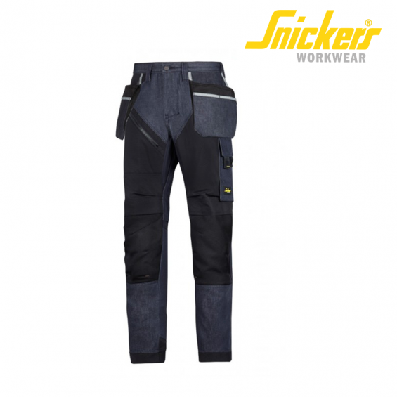 Hlače na pas SNICKERS RUFF WORK + DENIM 6204