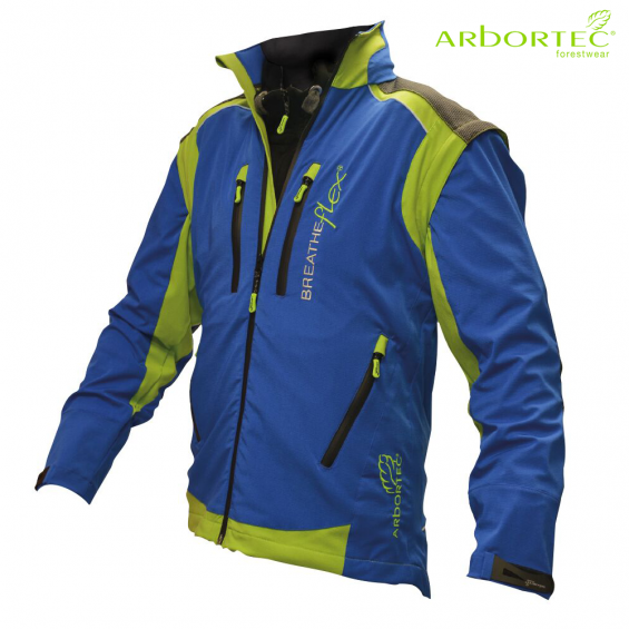 Gozdarska jakna ARBORTEC Breatheflex Pro AT4100 modra