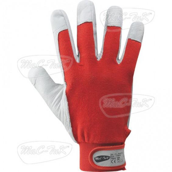 Zaščitne usnjene rokavice MAC-TUK BALL WINTER