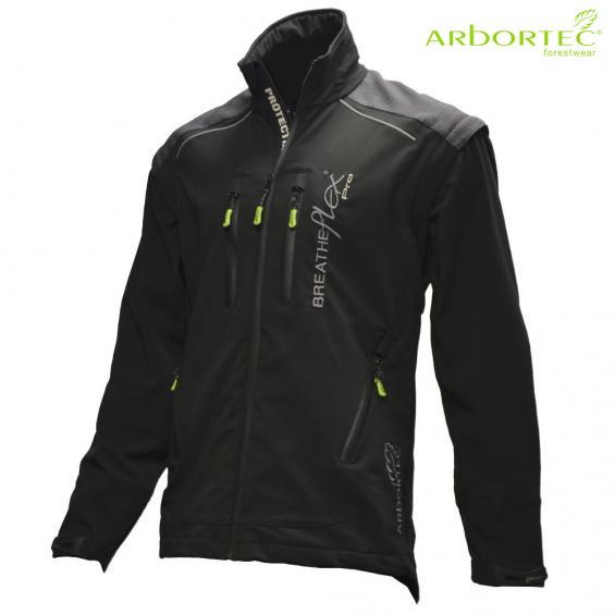 Gozdarska jakna ARBORTEC Breatheflex Pro AT4100 črna