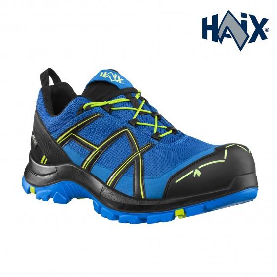Zaščitna obutev HAIX art. BLACK EAGLE SAFETY 40.1 LOW BLUE/CITRUS S3