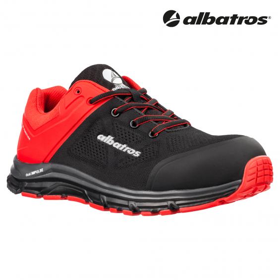Zaščitna obutev ALBATROS LIFT RED LOW S1P ESD