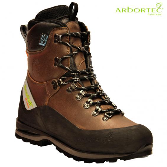 Zaščitna gozdarska obutev ARBORTEC SCAFELL LITE BROWN art. AT33200