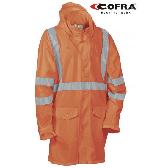 Dežni plašč COFRA CARACAS V452-01 EN20471