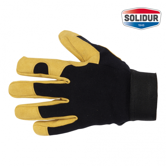 Delovne rokavice SOLIDUR oblazinjena dlan FRMAGF