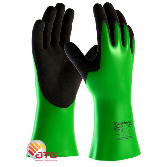 Zaščitne rokavice ATG MaxiCHEM 56-635 EN374-3