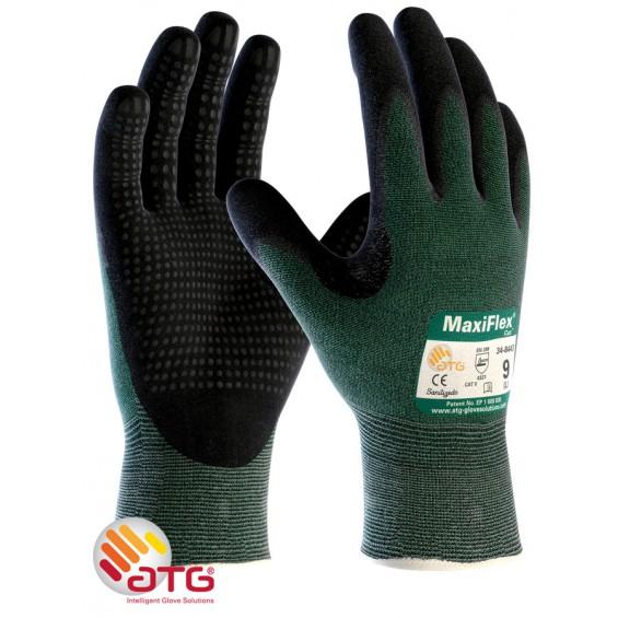 Zaščitne rokavice ATG MaxiFLEX Cut 34-8443 dots