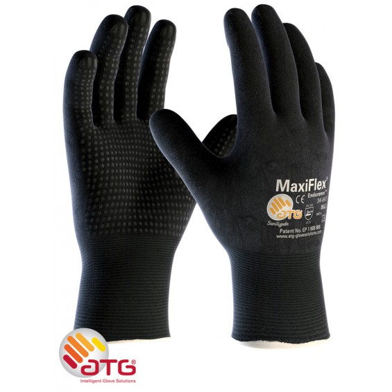 Zaščitne rokavice ATG MaxiFLEX Endurance 34-847 FC dots