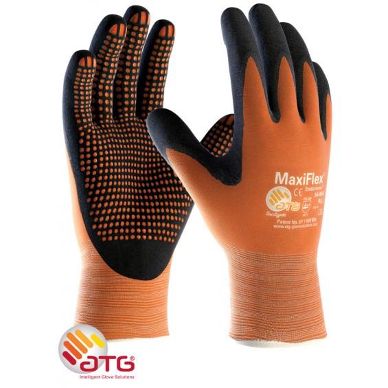 Zaščitne rokavice ATG MaxiFLEX Endurance 34-848 oranžna