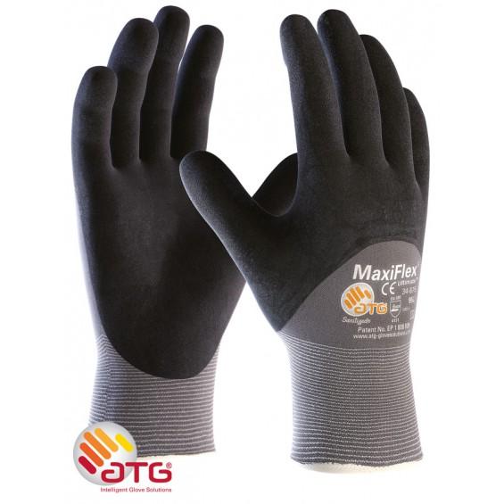 Zaščitne rokavice ATG MaxiFLEX Ultimate 34-875 3/4premaz