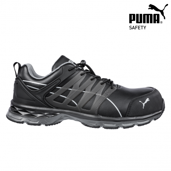 Zaščitna obutev PUMA VELOCITY 2.0 BLACK LOW S3 ESD HRO SRC