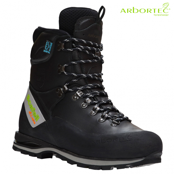 Zaščitna gozdarska obutev ARBORTEC SCAFELL LITE BLACK art. AT33100