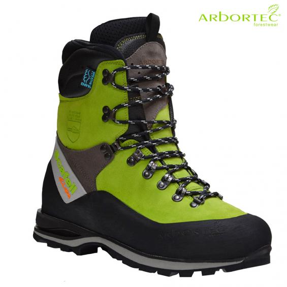 Zaščitna gozdarska obutev ARBORTEC SCAFELL LITE LIME art. AT33000