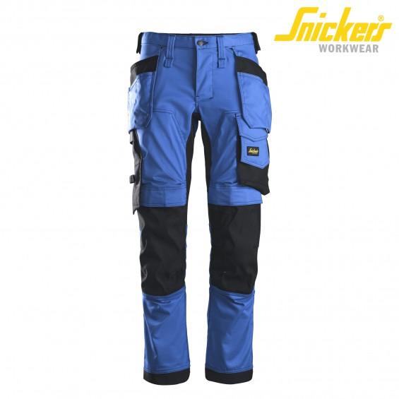 Delovne hlače na pas SNICKERS AllroundWork 6241-5604 modra/črna