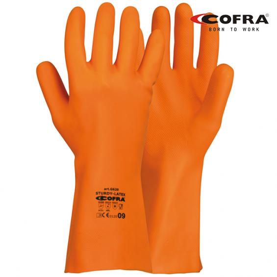 Zaščitne rokavice COFRA STURDY-LATEX G620