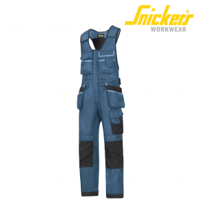 Kombi hlače SNICKERS DURATWILL 0212-1704 srednje modra/črna