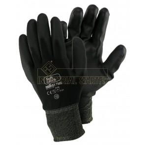 Zaščitne rokavice ISSA Soft Catch PU 07285 črne