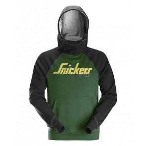 Delovni pulover SNICKERS 2889-3904 zelena/črna