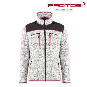 Gozdarska flis jakna PROTOS Inuit - siva