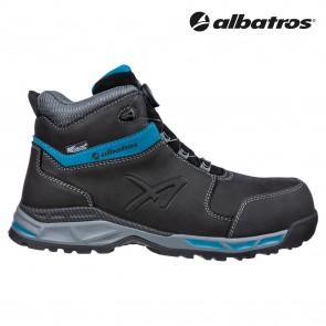 Zaščitna obutev ALBATROS TOFANE BLACK QL CTX MID S3 ESD WR HRO SRC