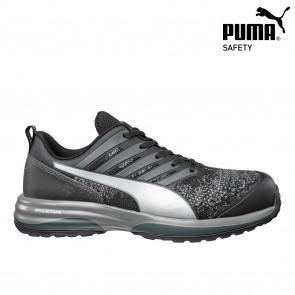Zaščitna obutev PUMA CHARGE BLACK LOW S1P ESD HRO SRC