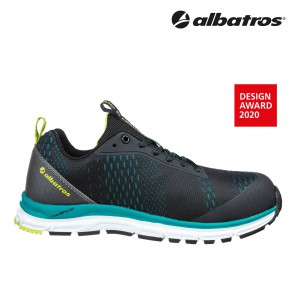 Zaščitna obutev ALBATROS AER55 IMPULSE BLACK BLUE LOW S1P