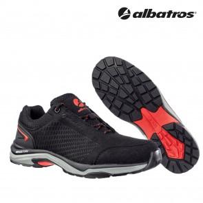 Delovna obutev ALBATROS VIALE BLACK LOW O1 HRO SRC
