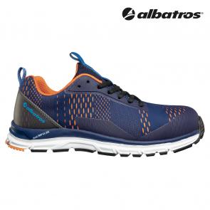 Zaščitna obutev ALBATROS AER55 IMPULSE BLUE ORANGE LOW S1P ESD HRO SRA