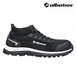 Zaščitna obutev ALBATROS ULTIMATE IMPULSE BLACK LOW S1P ESD HRO SRA