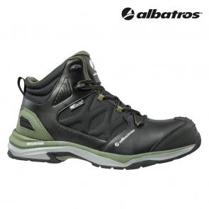 Zaščitna obutev ALBATROS ULTRATRAIL OLIVE CTX MID S3 ESD WR HRO SRC