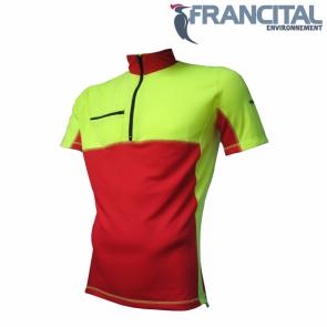 Gozdarska majica kratek rokav FRANCITAL PERTUIS FI074RA