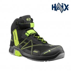 Zaščitna obutev HAIX CONNEXIS Safety GTX S3 mid grey-citrus