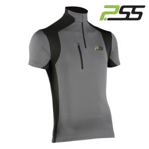 Gozdarska majica s kratkimi rokavi PSS X-treme Skin 706 črna/siva