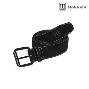 Usnjeni pas MACSEIS black/grey