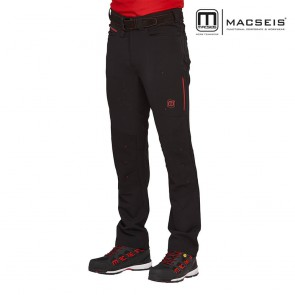 Hlače na pas MACSEIS MACTRONIC blackred