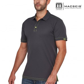 Polo majica MACSEIS SIGNATURE grey/green