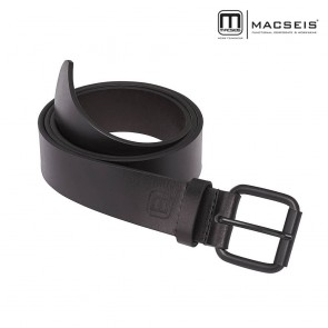 Usnjeni pas MACSEIS črn