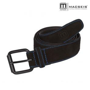 Usnjeni pas MACSEIS black/blue