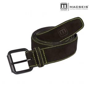 Usnjeni pas MACSEIS black/green