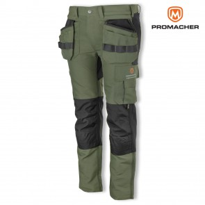 Delovne hlače PROM EREBOS green/black