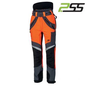 Gozdarske zaščitne hlače PSS X-treme Air 5x5 900 oranžna
