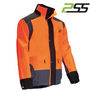 Gozdarska zaščitna jakna PSS X-treme Rain 901 oranžna