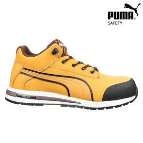 Zaščitna obutev PUMA DASH WHEAT MID EN ISO 20345-S3 HRO SRC