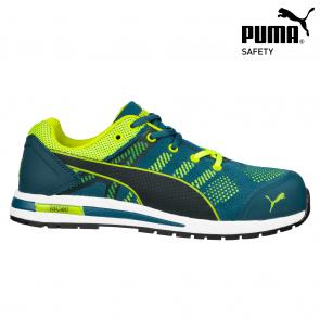 Zaščitna obutev PUMA ELEVATE KNIT Green LOW EN ISO 20345-S1P HRO SRC