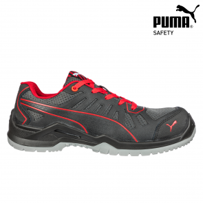 Zaščitna obutev PUMA FUSE TC RED LOW S1P ESD SRC