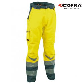 Hlače na pas COFRA SAFE V025 EN 343 3/3 , EN 471 3/2