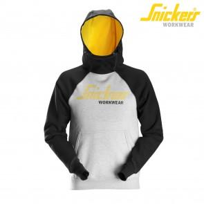 Delovni pulover SNICKERS 2889-2804 sivačrna